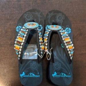Montana West Sandals (Indian style)NWT